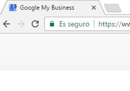 Actualización google chrome - ssl
