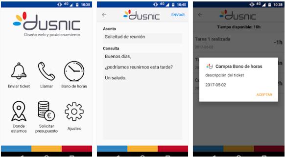 ventajas de tener una app para tu empresa - dusnic