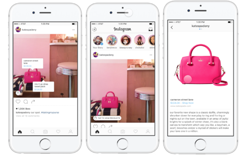 Instagram Shopping ya está disponible en España