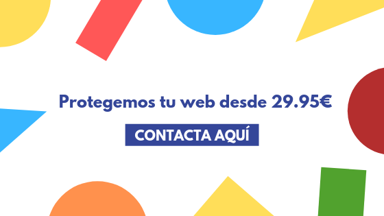 Protegemos tu web desde 29.95€