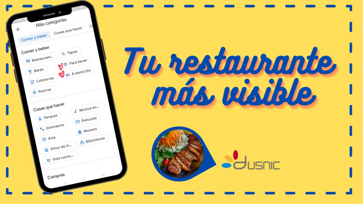Haz que tu restaurante sea más visible en Google